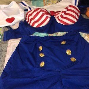 Cute USA 🇺🇸 Sailor Costume 🇺🇸